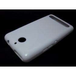 Funda Gel Tpu Sony Xperia E1 Modelo X Line Color Blanca