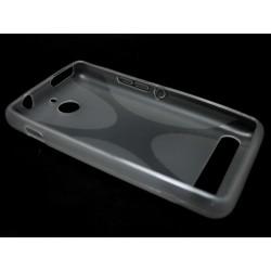 Funda Gel Tpu Sony Xperia E1 Modelo X Line Color Transparente