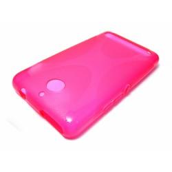 Funda Gel Tpu Sony Xperia E1 Modelo X Line Color Rosa