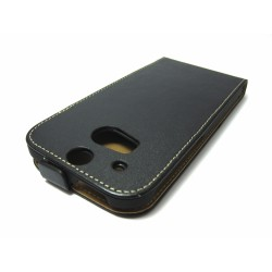Funda Piel Premium Ultra-Slim HTC One 2 (M8) Negra