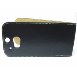 Funda Piel Premium Ultra-Slim HTC One 2 (M8) Negra