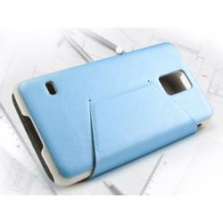 Funda Soporte Piel Azul Kalaideng Swift para Samsung Galaxy S5 / S5 Neo