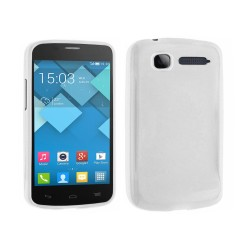 Funda Gel Tpu Alcatel One Touch Pop C1 / Orange Yomi Color Blanca