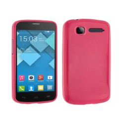 Funda Gel Tpu Alcatel One Touch Pop C1 / Orange Yomi Color Rosa