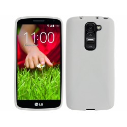 Funda Gel Tpu Lg Optimus G2 Mini D620 Modelo X Line Color Blanca