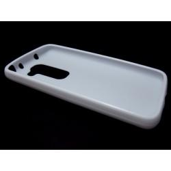 Funda Gel Tpu Lg Optimus G2 Mini D620 Modelo X Line Color Blanca
