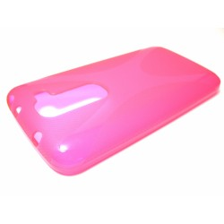 Funda Gel Tpu Lg Optimus G2 Mini D620 Modelo X Line Color Rosa
