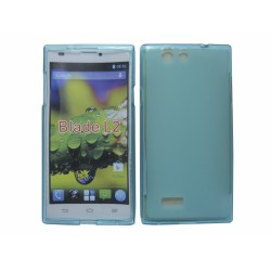 Funda Gel Tpu Zte Blade L2 Color Azul