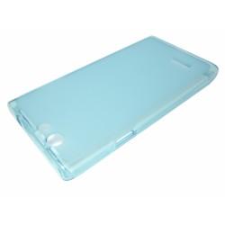 Funda Gel Tpu Zte Blade L2 Color Azul