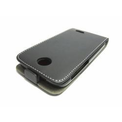 Funda Piel Premium Ultra-Slim HTC Desire 310 Negra