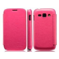 Funda Flip Piel Rosa / Fucsia Kalaideng Enland para Samsung Galaxy Ace 3 S7270 / S7272 / S7275