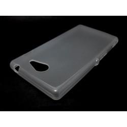 Funda Gel Tpu Sony Xperia M2 Aqua Color Transparente