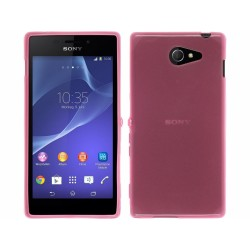 Funda Gel Tpu Sony Xperia M2 Aqua Color Rosa