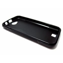 Funda Gel Tpu Bq Aquaris 5  / Fnac Phablet 5  S Line Color Negra