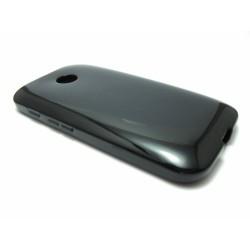 Funda Gel Tpu Motorola Moto E Modelo X Line Color Negra
