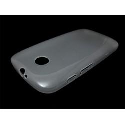 Funda Gel Tpu Motorola Moto E Modelo X Line Color Transparente