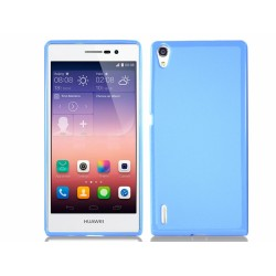 Funda Gel Tpu para Huawei Ascend P7 Color Azul