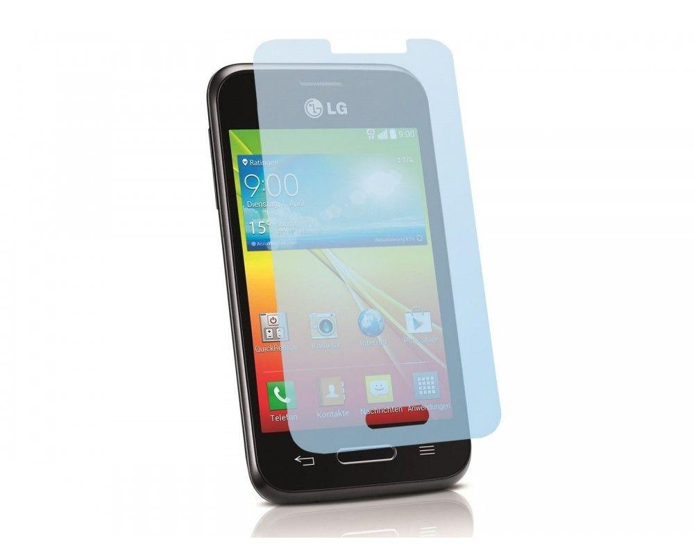 3 X Protector Pantalla Ultra-Transparente Lg Optimus L40 D160