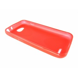 Funda Gel Tpu Lg Optimus L90 D405N  X Line Color Roja
