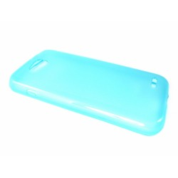 Funda Gel Tpu Lg Optimus L90 D405N Color Azul / Celeste