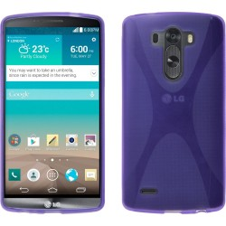 Funda Gel Tpu Lg G3 D855 X Line Color Morada