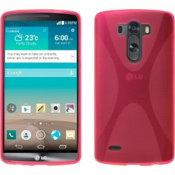 Funda Gel Tpu Lg G3 D855  X Line Color Rosa