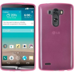 Funda Gel Tpu Lg G3 D855 Color Rosa