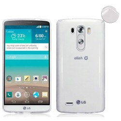 Funda Gel Tpu Fina Ultra-Thin 0,3mm Transparente para Lg G3 D855