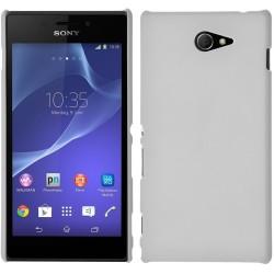 Carcasa Dura Sony Xperia M2 Color Blanca
