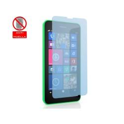 3 X Protector Pantalla Mate Antihuellas (Anti-Glare) Nokia Lumia 630 / 635