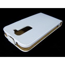 Funda Piel Premium Ultra-Slim Lg Optimus G2 Mini D620 Blanca