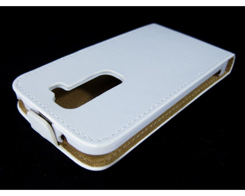 Funda Piel Premium Ultra-Slim Lg Optimus G2 Mini D620 Blanca