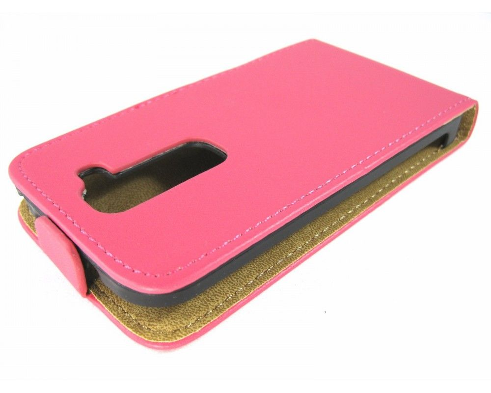 Funda Piel Premium Ultra-Slim Lg Optimus G2 Mini D620 Rosa / Fucsia