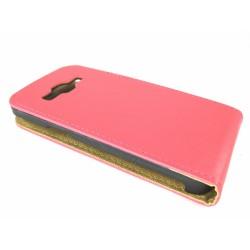 Funda Piel Premium Ultra-Slim Samsung Galaxy Core 4G G386F Lte Roja