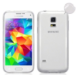 Funda Gel Tpu Fina Ultra-Thin 0,3mm Transparente para Samsung Galaxy S5 Mini G800F