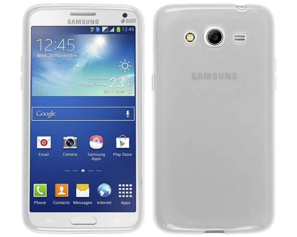 Funda Gel Tpu para Samsung Galaxy Core 2 G355H Color Transparente