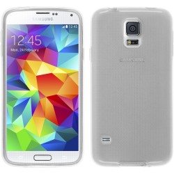 Funda Gel Tpu para Samsung Galaxy S5 Mini G800F Color Transparente