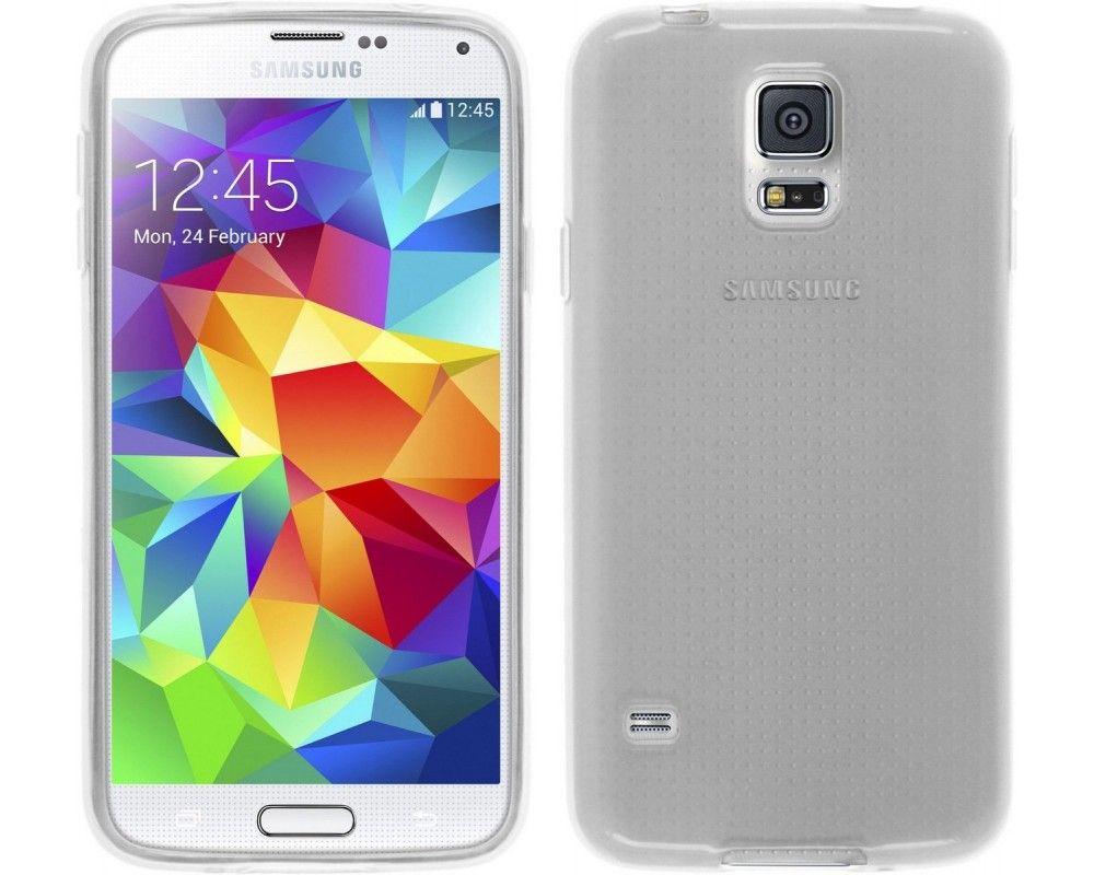 Funda Gel Tpu para Samsung Galaxy S5 Mini G800F Color Transparente