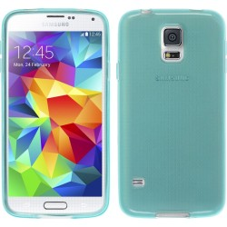 Funda Gel Tpu para Samsung Galaxy S5 Mini G800F Color Azul