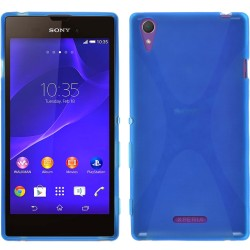 Funda Gel Tpu Sony Xperia T3 X Line Color Azul