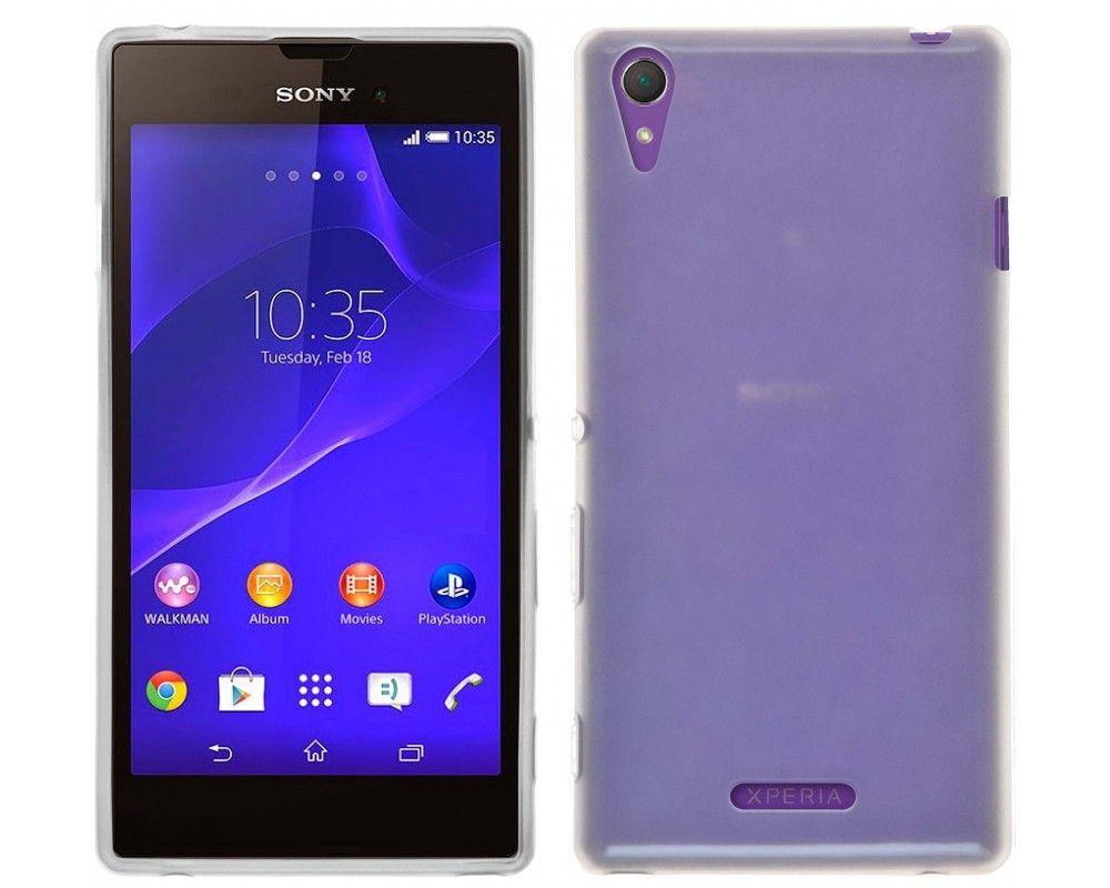 Funda Gel Tpu para Sony Xperia T3 Color Transparente