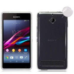 Funda Gel Tpu Fina Ultra-Thin 0,3mm Transparente para Sony Xperia E1