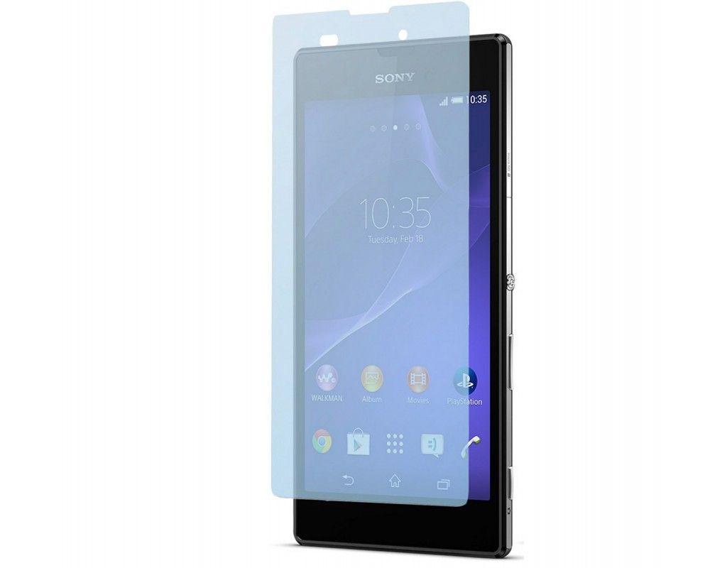 3 X Protector Pantalla Ultra-Transparente Sony Xperia T3
