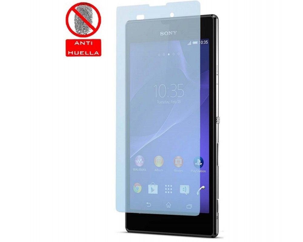 3 X Protector Pantalla Mate Antihuellas (Anti-Glare) Sony Xperia T3