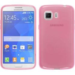Funda Gel Tpu para Samsung Galaxy Young 2 G130H Color Rosa