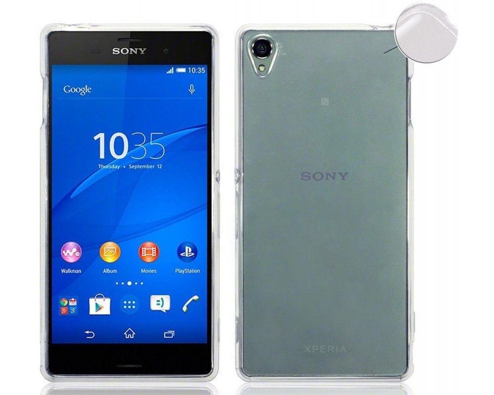 Funda Gel Tpu Fina Ultra-Thin 0,3mm Transparente para Sony Xperia Z3