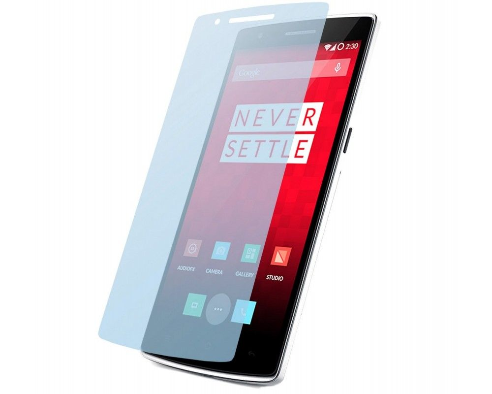 3 X Protector Pantalla Mate Antihuellas (Anti-Glare) Oneplus One