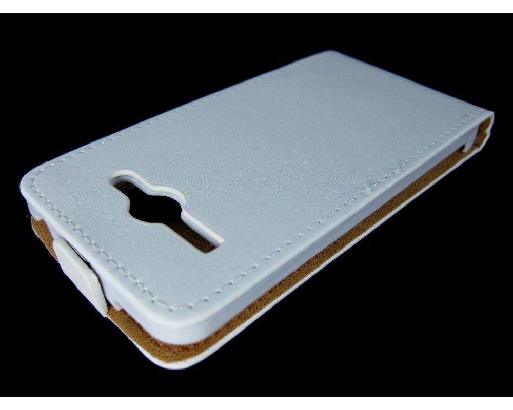 Funda Piel Premium Ultra-Slim Huawei Ascend Y530 Blanca