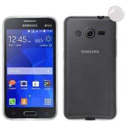 Funda Gel Tpu Fina Ultra-Thin 0,3mm Transparente para Samsung Galaxy Core 4G G386F
