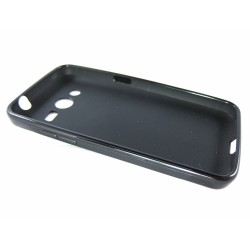 Funda Gel Tpu  Samsung Galaxy Core 4G G386F X Line Color Negra